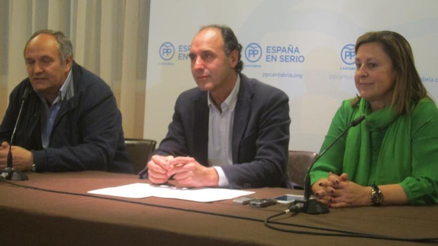 """El PP, """"satisfecho"""" por el resultado en una Cantabria que """"quiere que Mariano Rajoy siga siendo presidente"""""""