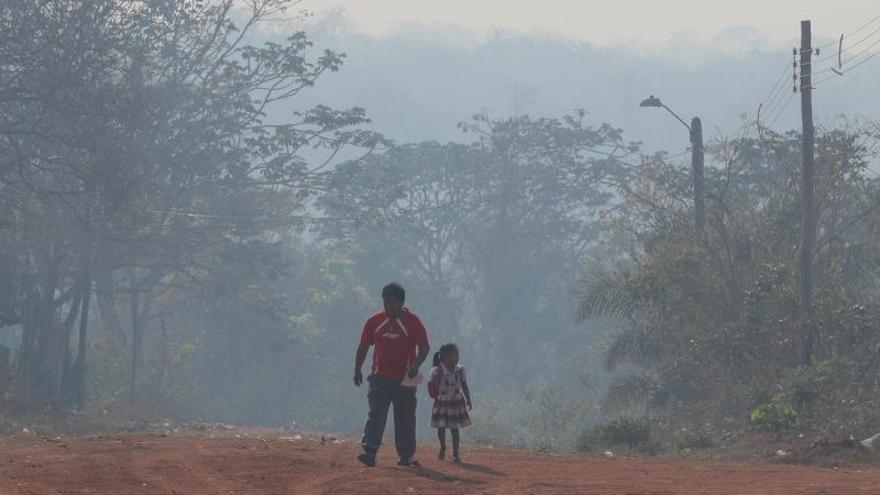 Los incendios golpean al turismo en la atractiva la Chiquitania boliviana