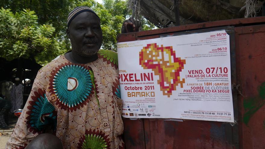 Festival Pixelini, octubre de 2011, Bamako. Organizado por el Colectivo Yeta (Bamako) y Ker Thiossane (dakar)