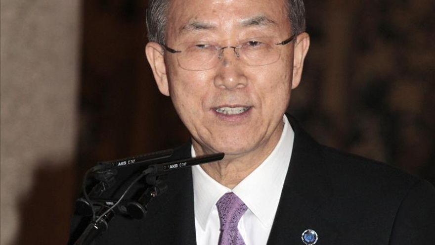 "Ban Ki-moon expresa su ""grave preocupación"" por las noticias de un bombardeo israelí en Siria"