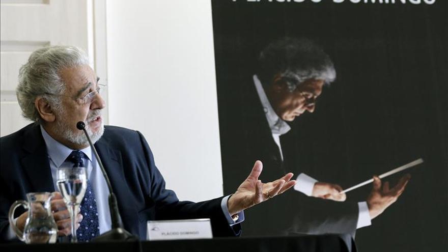 Plácido Domingo protagoniza el arranque de la temporada de ópera en Valencia