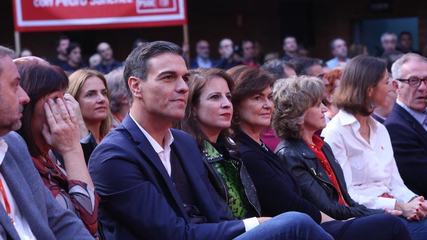 Quejas del 'sanchismo' andaluz en el Comité Federal del PSOE por su ausencia en las listas al 2-D