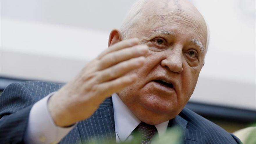Gorbachov dice 25 años después de dimisión que luchó hasta el final por URSS