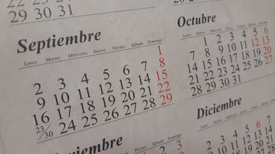 Calendario Laboral 2020 Madrid Capital.Este Es El Calendario Inicial De Fiestas Laborales Para 2020