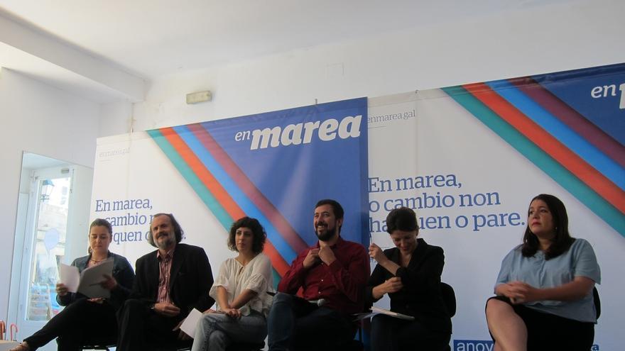 En Marea promete autocrítica pero no renuncia a liderar una alternativa al PP en las gallegas