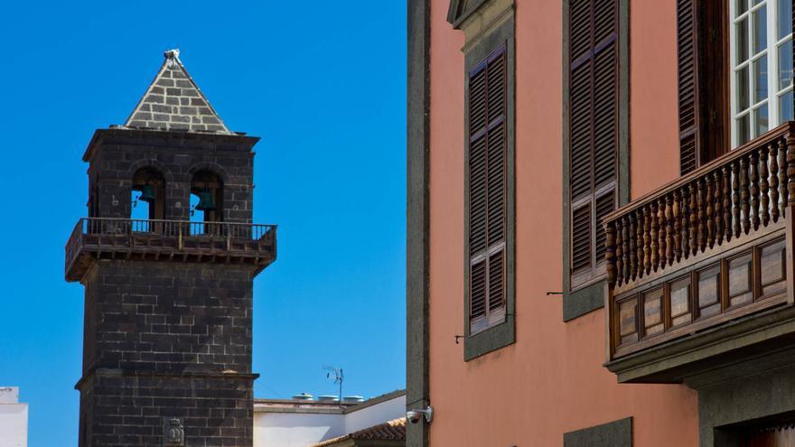 Torre de la Iglesia de San Agustín, en la Audiencia de Las Palmas. VIAJAR AHORA