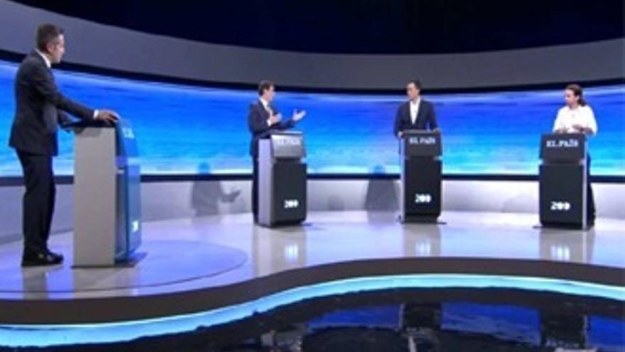 'El gran debate' de Iglesias-Rivera-Sánchez también arrasa en la red
