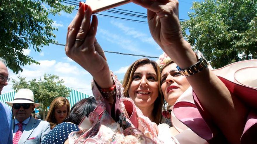 Susana Díaz: El PSOE es el único capaz de crear riqueza y empleo con igualdad