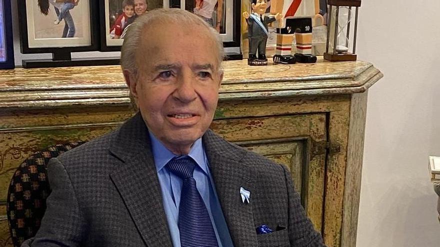 Carlos Menem tenía 90 años.