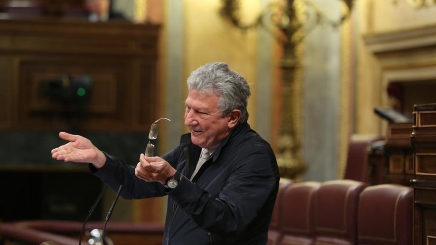 Pedro Quevedo, diputado de Nueva Canarias.