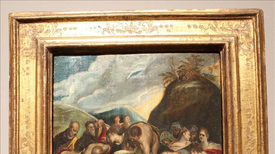 """""""El entierro de Cristo"""" de El Greco subastado por 750.000 dólares en Nueva York"""