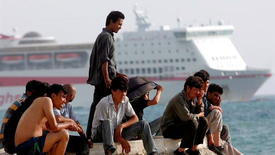 Muere un afgano en una reyerta entre migrantes que tratan de llegar a Italia