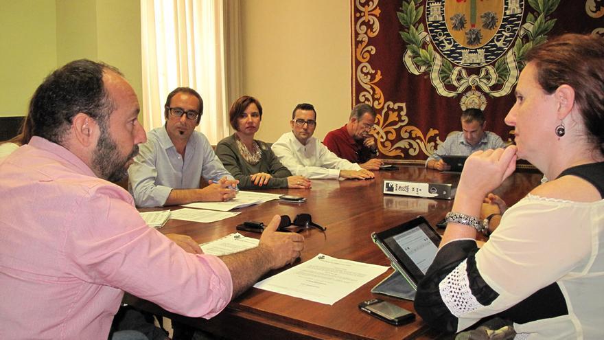 Reunión del consejo rector del Organismo Autónomo de Fiestas.