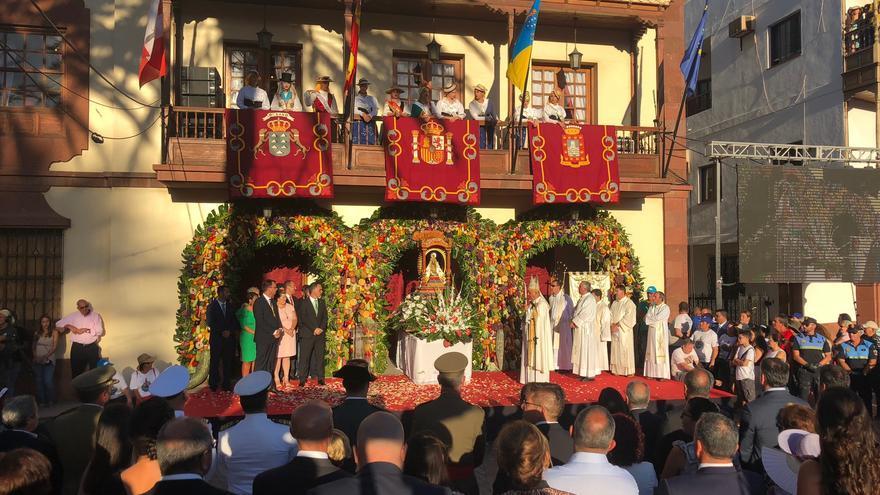 Imagen de la Bajada de la Virgen de Guadalupe el pasado 8 de octubre