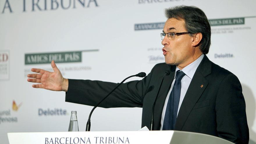 El presidente de la Generalitat de Cataluña, Artur Mas. / Efe