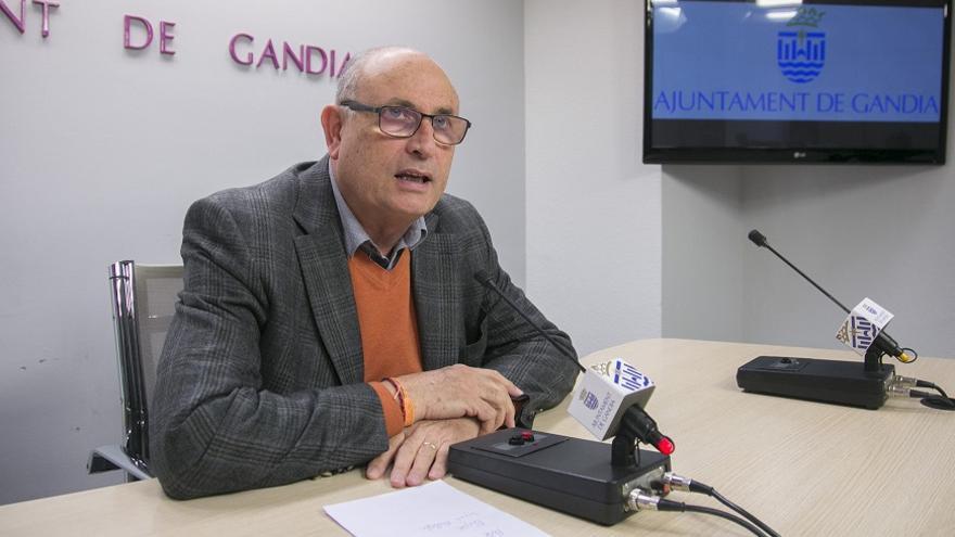 Ciro Palmer, único concejal de Ciudadanos en Gandia