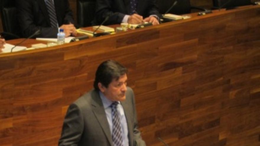 Javier Fernández (PSOE), En El Pleno De Elección De Presidente