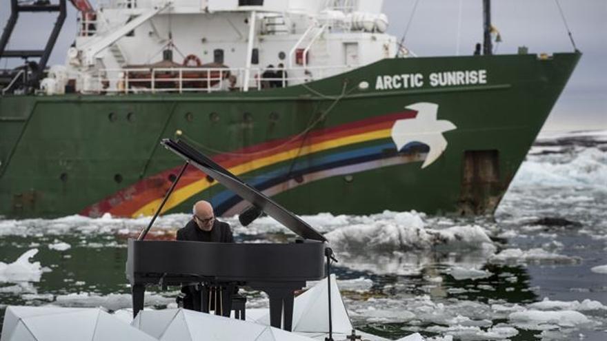 Ludovico Einaudi en el ártico