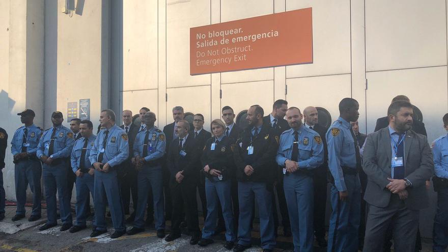 Policía de la ONU en Ifema