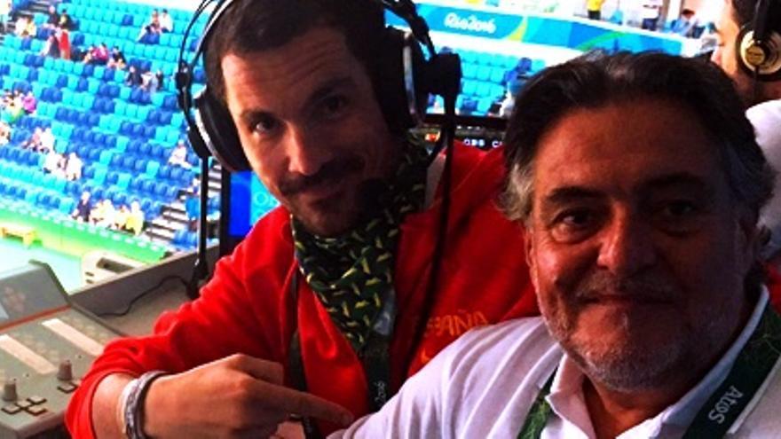 Lalo Alzueta abandona TVE tras consagrarse en Río como la voz del basket