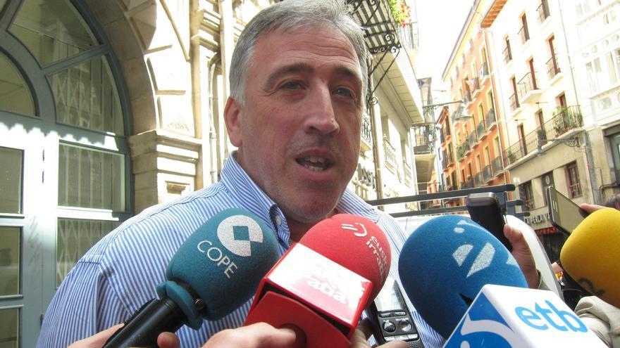 Joseba Asirón ha asegurado que los actos civiles del Privilegio de la Unión se podrán compatibilizar con los religiosos