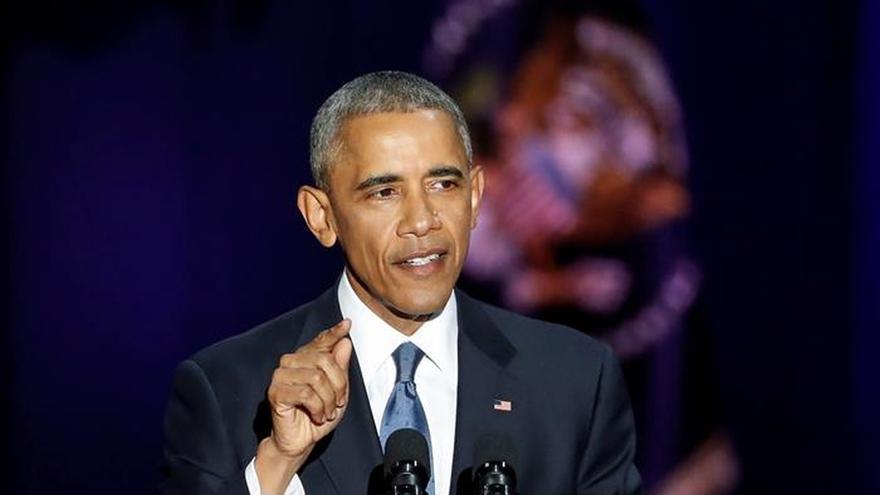 """Obama pasa el testigo del """"cambio"""" a los ciudadanos en un optimista y emotivo adiós"""