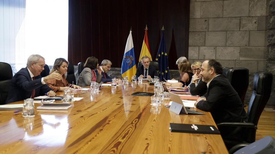 Consejo de Gobierno de Canarias celebrado el pasado  6  de febrero.
