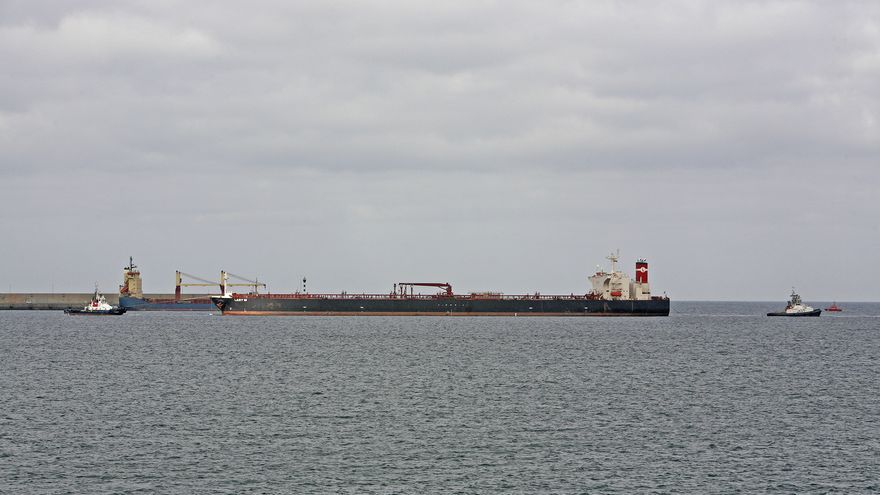 Llegada del 'Lady M' al Puerto de La Luz y de Las Palmas (ALEJANDRO RAMOS)