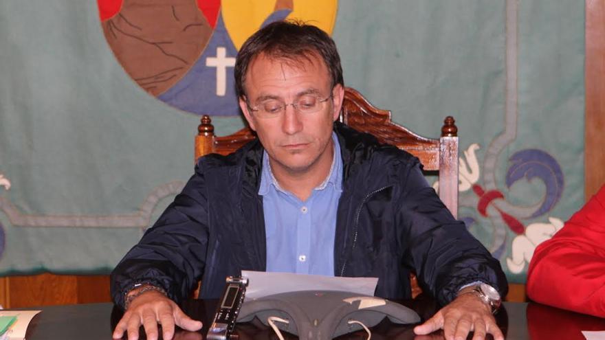 Sergio Rodríguez, alcalde del Ayuntamiento de El Paso.