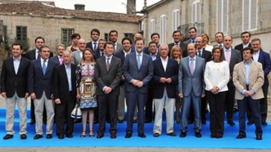 Reunión De Presidentes De Diputaciones Del PP