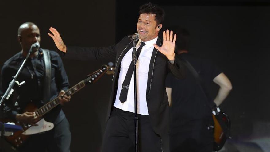 Madrid celebra a Ricky Martin sin espacio para el pánico terrorista