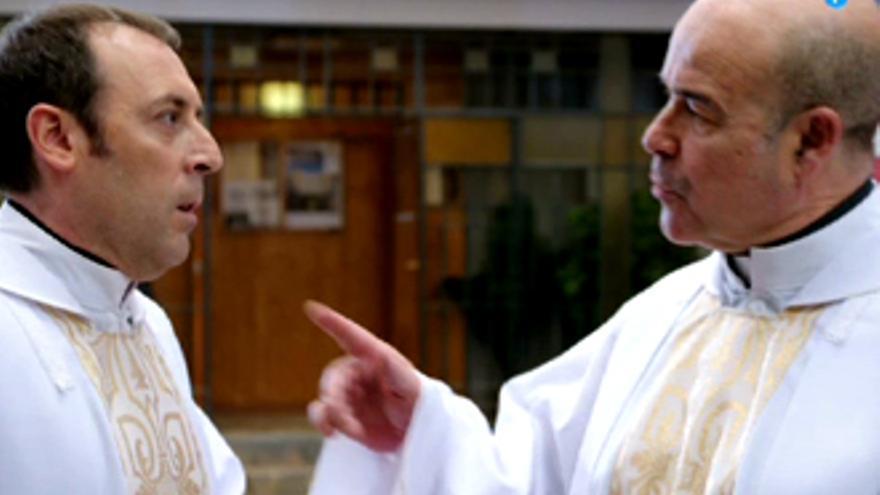 Resines, mano a mano con su hijo en la nueva serie de Telecinco