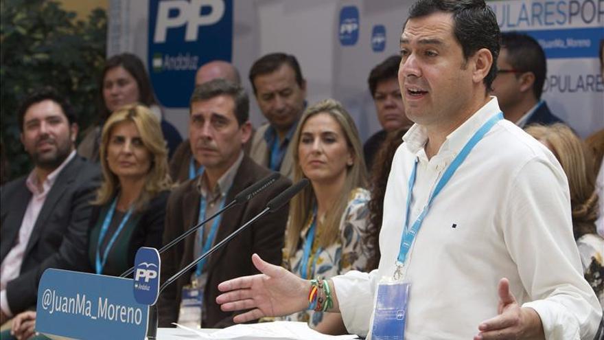 Moreno acusa a Díaz de apoyar reforma constitucional dañina para Andalucía