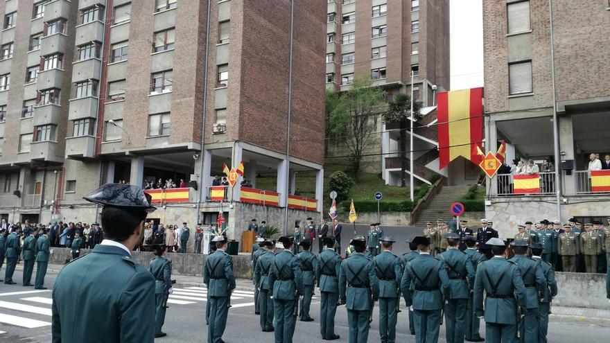 El nuevo jefe de Comandancia en Guipúzcoa pide romper tabúes y recuerda los más de 100 asesinados por ETA en la unidad