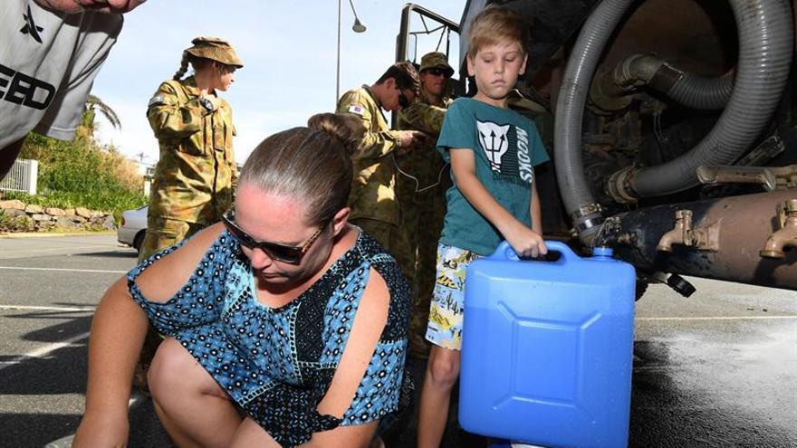 Nueva Zelanda se prepara para el ciclón Debbie, que causó daños en Australia