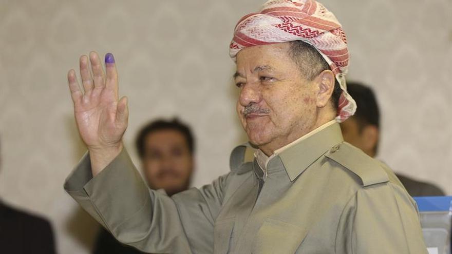 Barzani sigue liderando el comité kurdo encargado de negociar con Bagdad