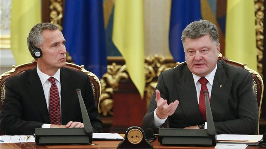 La OTAN y Ucrania reforzarán la cooperación en defensa