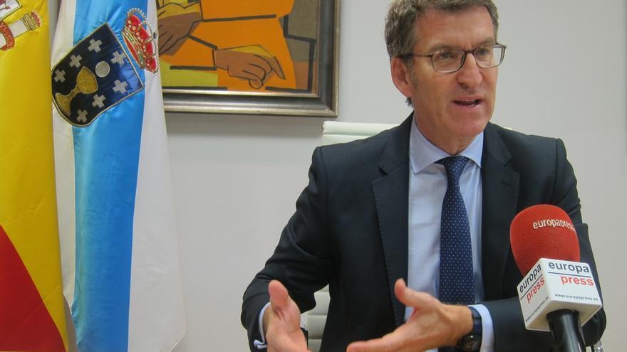 Feijóo descarta ser secretario general de Rajoy y defiende el papel de Cospedal en momentos de gran dificultad