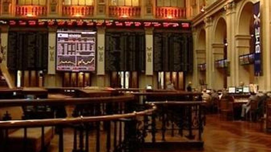 Panel del Ibex 35, Bolsa de Madrid