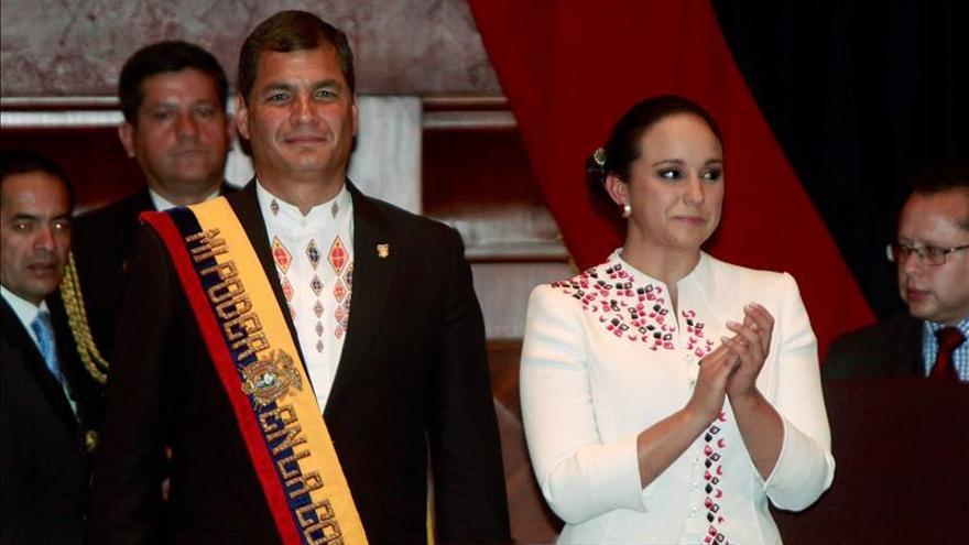 El oficialismo en Ecuador apoya la reelección de la presidenta del Legislativo
