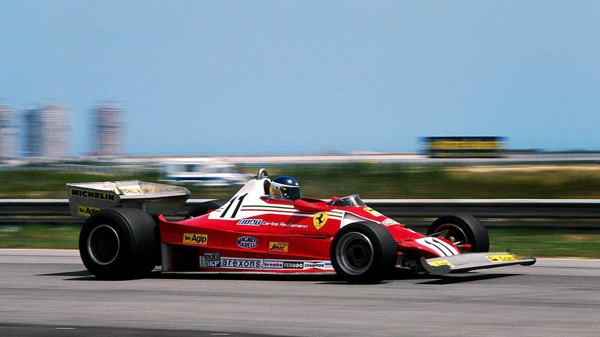 A fines de1976, Reutemann pasó de Brabham a Ferrari.