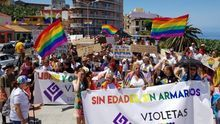 Imagen de archivo de la celebración del Orgullo en Tazacorte.