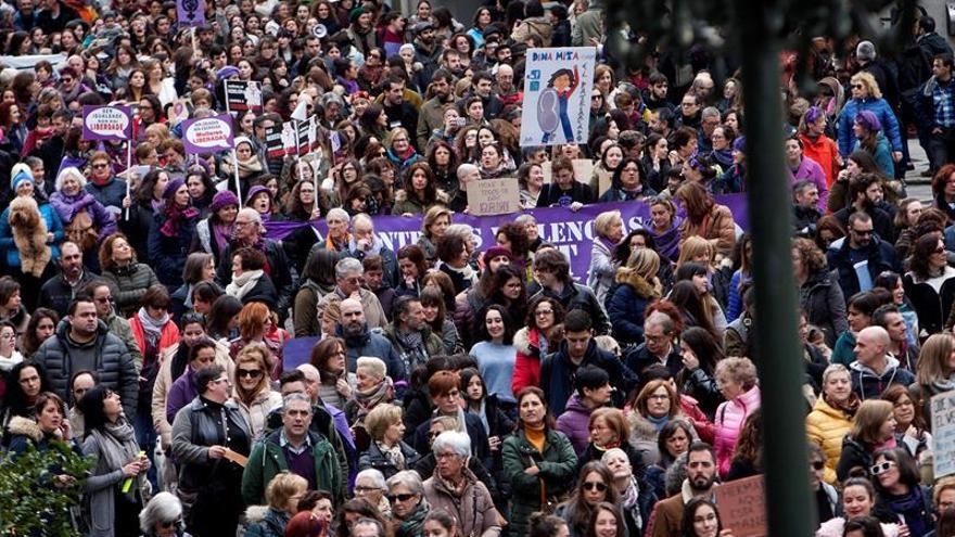"""Las asociaciones sanitarias hacen un llamamiento a una """"gran movilización social"""" del 8M"""