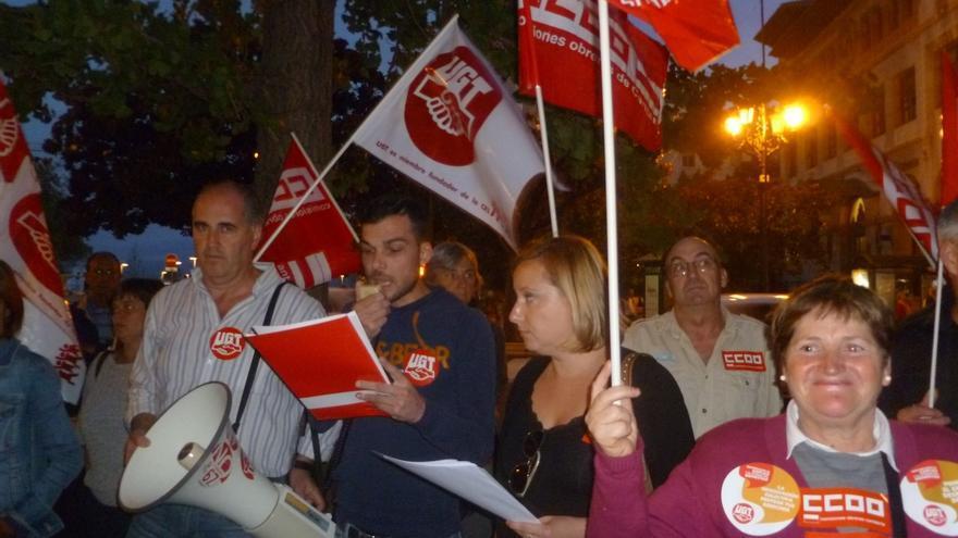 """CCOO y UGT llaman a participar en la concentración de mañana por una salida de la crisis """"más justa para todos"""""""