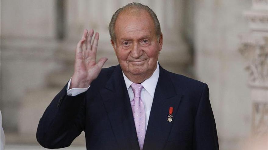 El rey Juan Carlos tras su abdicación