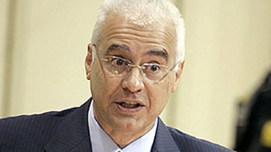 El diputado del Grupo Parlamentario Socialista Juan Carlos Alemán.