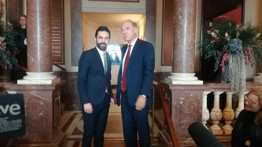 """Torrent defiende que la investidura de Sànchez es legal y un """"derecho político"""""""