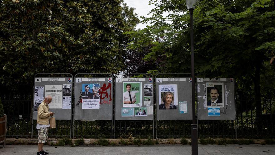 La abstención en las regionales francesas ronda un nivel récord del 66 %