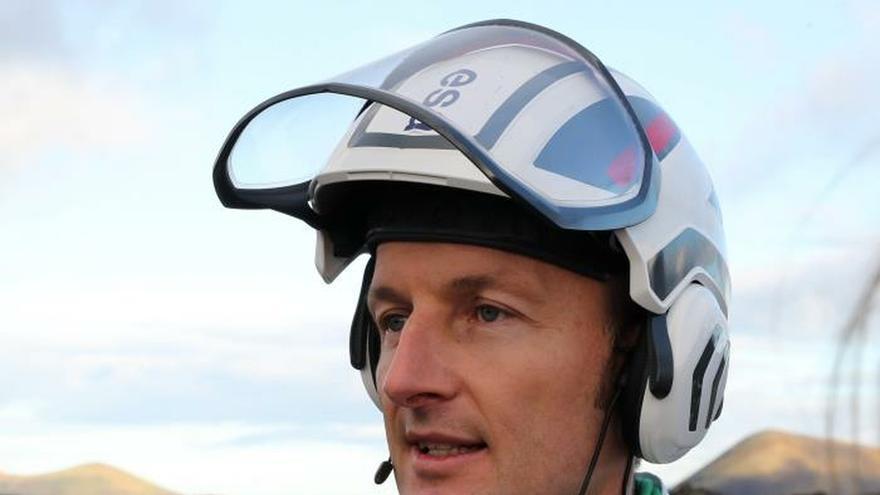 El entrenamiento del astronauta alemán Matthias Maurer.