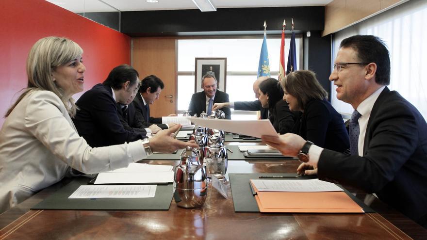 El gobierno valenciano pagó 11.737 millones de euros a proveedores en 2012 sin incluir el FLA